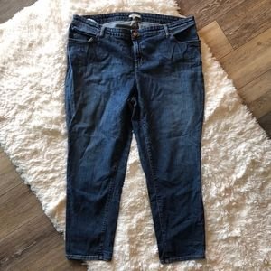 Eileen Fisher Organic Cotton Crop Tapered Jeans